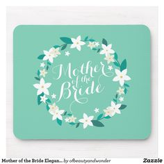 Shop Mother of the Bride Elegant Wedding Wedding Shower Gifts, Gifts For Wedding Party, Bridal Gifts, Diy Wedding, Party Gifts, Elegant Wedding, Floral Wedding, Wedding Coasters, Custom Coasters