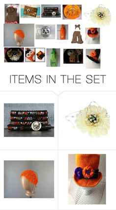 """Handmade Halloween Ideas"" by missy69-etsy ❤ liked on Polyvore featuring art and teamsp"