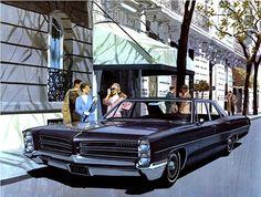 1966 Pontiac Star Chief Executive 4-Door Sedan - 'Street Seen': Art Fitzpatrick and Van Kaufman