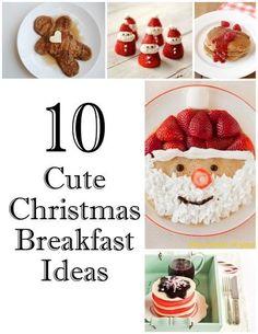 10 Cute Christmas Breakfast Ideas