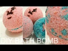 DIY LUSH BATH BOMB|| Color Changing With Surprises Inside!+DEMO - YouTube