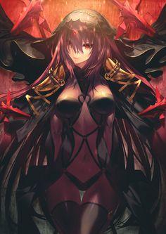 kodama (wa-ka-me),Anime Art,Аниме арт, Аниме-арт,Anime,Аниме,Scathach (Fate/grand order),Fate/Grand Order,Fate Grand Order, FGO,Fate (series),Fate (srs)