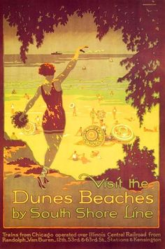 Visit the Dunes Beaches | South Shore Posters | Pinterest