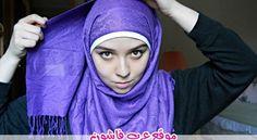 10 طرق لف الحجاب بالصور والخطوات How To Wear Hijab, Hair Cover, Muslim Fashion, Projects, Log Projects, Blue Prints, Moslem Fashion