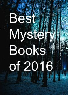 Best Mystery Books of 2016