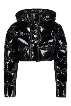 Luxury & Vintage Madrid, offers you the best selection of contemporary and vintage clothes from around the world, discover our luxury brands, Express delivery! Girls Puffer Jacket, Puffy Jacket, Cute Casual Outfits, Stylish Outfits, Kpop Fashion, Fashion Outfits, Holographic Jacket, Vinyl Clothing, Virtual Fashion
