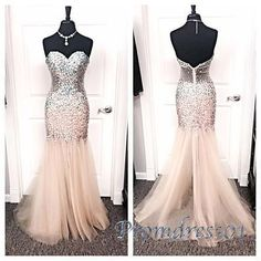 2020 Custom Made White Tulle Prom Dress,Beading Evening Dress,Sweetheart Party Gown,Floor Length Pegeant Dress, High Quality Gold Bridesmaid Dresses, Cute Prom Dresses, Prom Dresses 2016, Plus Size Prom Dresses, Tulle Prom Dress, Evening Dresses, Prom Outfits, Grad Dresses, 15 Dresses