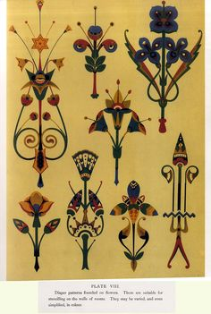 Christopher Dresser, Studies in design 1876, a selection of plates