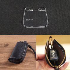 LEATHER CRAFT Car Key Bag Mini Case Template Acrylic Leather Pattern Stencil - $4.99. 222873941218