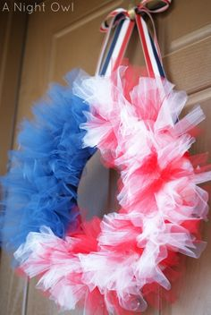 Front Door Wreath -- I'm GONNA do this!! by lolita
