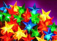 Kit des étoiles de silicone de Noël http://www.rotopino.fr/kit-des-etoiles-de-silicone-100-10-m-multicolore-bulinex,44410 #lumieresdenoel #noel #decoration #rotopino
