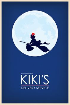 kiki's delivery service poster via fluffy pancakes