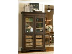 Paula Deen by Universal Dining Room Down Home Paula's Dish Pantry 471317 - Kittle's Furniture - Indiana and Ohio