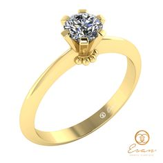Inel de logodna din aur cu diamant ES27 Aur, Engagement Rings, Jewelry, Fashion, Enagement Rings, Moda, Wedding Rings, Jewlery, Bijoux