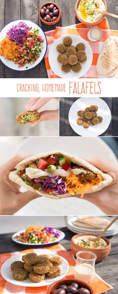 Have you tried making falafels at home? Try it, they are easy and taste fantastic. They are crispy and golden on the outside and soft on the inside. Best enjoyed with heaps of salad, hummus and tahini sauce. #vegan #recipes #vegetarian #falafels
