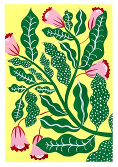 The Colourful Imagination of Agathe Singer · Papirmass Art Subscription Illustration Botanique, Art Et Illustration, Floral Illustrations, Botanical Illustration, Guache, Motif Floral, Art Graphique, Flower Art, Wall Art Prints
