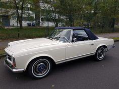 Mercedes-Benz 250 SL Pagode, W113, Bj. 08/1967, AUTOMATIK, Oldtimer, RARITÄT !!!   Check more at https://0nlineshop.de/mercedes-benz-250-sl-pagode-w113-bj-081967-automatik-oldtimer-raritaet/