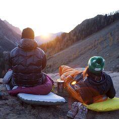 mountain sunsets and sunrises