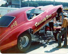 Cassidy Bros Funny Car 1975