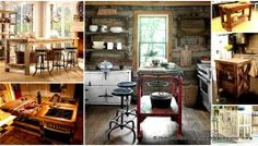 32 Super Neat and Inexpensive Rustic Kitchen Islands to Materialize