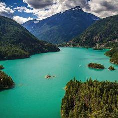 Diablo Lake in Cascades National Park