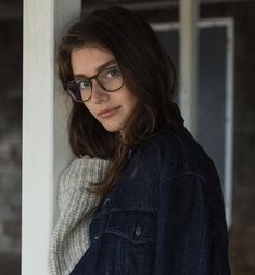 WEBSTA @ jessmclements - There are nights when the wolves are silent and only the moon howls Jessica Clement, Cute Glasses, Girls With Glasses, Girl Glasses, John Lennon Glasses, Womens Glasses Frames, Lunette Style, Female Character Inspiration, Looks Style