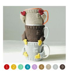 OH my goodness! How cute are these??? Cozy Mug Sweater Choose your color by mugsweater on Etsy, $16.50