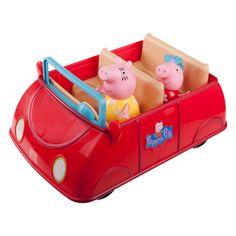 Nickelodeon Peppa Pig™ Vehicle & Figures - Peppa's Red Car