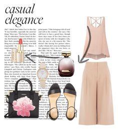 """Casual"" by dzeneta25 ❤ liked on Polyvore featuring BCBGMAXAZRIA, Glamorous, Calvin Klein and Nina Ricci"