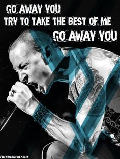 A Place for my Head.... Linkin Park lyrics. I absolutely love this part of the song