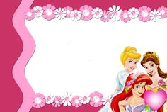 {free} Disney Princesses Printables