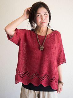 Ravelry: Sedona Shadows pattern by Yumiko Alexander Easy Knitting Patterns, Hand Knitting, Summer Knitting, Knit Picks, Knit Crochet, Body Types, Shadows, Tunic Tops, Capelet