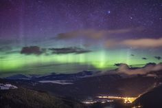 Stunning Northern Lights Glow Over the Rocky Mountains - My Modern Metropolis