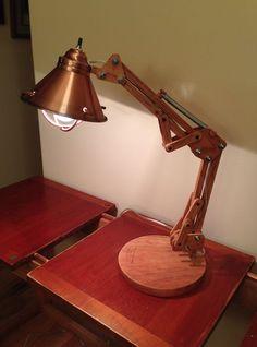 Imagem de lâmpada Arquiteto de madeira
