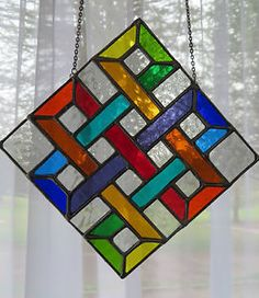 Eternal-Knot-Wonderful-Rainbow-Stained-Glass-Suncatcher-pewtermoonsilver