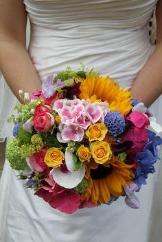 Flower Design Events: The Vibrant Bridal Bouquet Keywords: Wedding bouquet bridal bouquet #wedding #bouquet #bridal #flowers