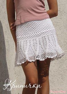 """Изумительно красивая юбка: """"Любит-не любит""""( автор Криничка)"""