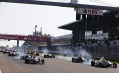 GP3 Series 2013 - Round 4 - Nürburgring, Nürburg, Race 2, Carlin, Nick Yelloly, Bamboo Engineering, Melville McKee, Alexander  Sims, Status Grand Prix