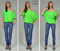 Jak uszyć bluzkę - 5 wzorów
