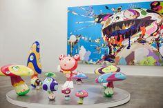 Takashi Murakami at the Qatar Museum