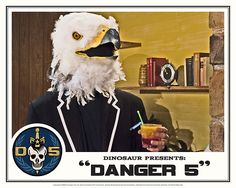 Danger 5 Lobby Card #2