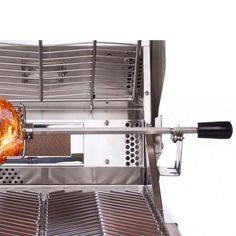 Visit The Home Depot to buy Cal Flame Rotisserie Rod Kit Bbq Spit, Cal Flame, All Stainless Steel, Smokehouse, Smokers, Barrel, Kit, Home, Barrel Roll