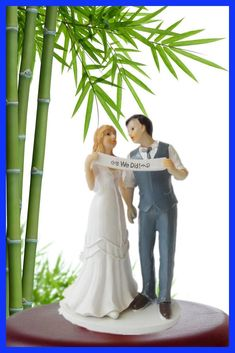 free shipping Indie Retro Vintage Style Bride and Groom Wedding Cake Topper Romantic for cake decorationPrimero de la torta