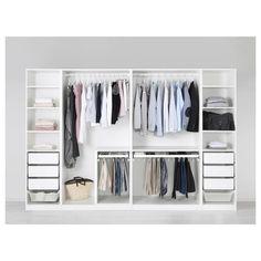 50 trendy ideas for ikea pax closet system 10 years Ikea Closet System, Ikea Pax Closet, Ikea Pax Wardrobe, Bedroom Wardrobe, Closet Storage, Closet Organization, Ikea Fitted Wardrobes, Ikea Wardrobe Storage, Open Wardrobes