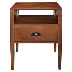$79.99 Accent Table Brown.Opens in a new window
