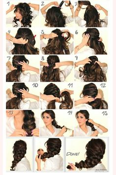 Elsa braid tutorial