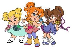 The only Chipettes I care to acknowledge. I was totally a Brittany.