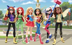 Mattel Promotes Girl Power With New DC Superhero Action Figure Line