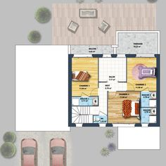 modle et plan de maison volume etage avec ou sans garage par le constructeur maisons phenix garage apartment pinterest salons mezzanine and lofts