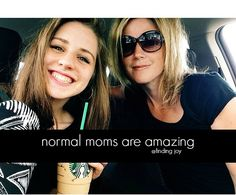 There is nothing small about motherhood.  There is nothing small about normal motherhood.  And normal moms are amazing.  You, you the normal Starbucks latte drinking shopping at Target mom, you are amazing.